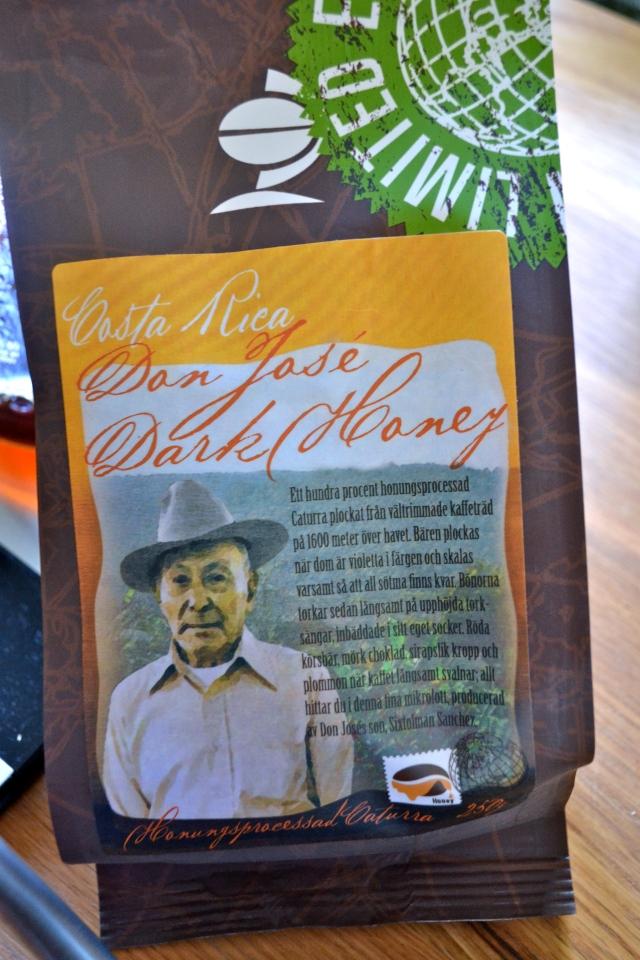 En såkallad Limited Edition från oss på Johan & Nyström. Passa på att köpa den i en kaffe/te-butik nära dig, den är riktigt god!